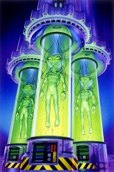 Alien Experiment by Steve Read