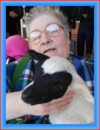 ==WEEKLY  THEME==FARM   ANIMALS==  ==  ME  HOLDING   A   BABY  LAMB ==