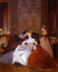 The Hesitant Betrothed, 1866