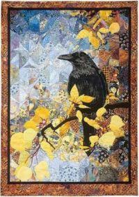 Art Quilt,  Autumn Raven Karin Frazen