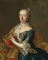 Workshop of Martin van Meytens Kaiserin Maria Theresia