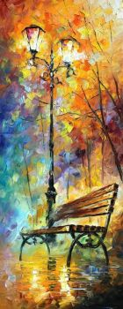 Aura of Autumn 2, by Leonid Afremov