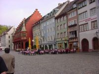 Sidewalk Cafe Freiburg Germany