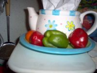 peppers and the one tomatoes   I   grew 2013