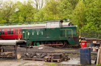 elsecar heritage railway 18-05-2015 6950 diesel locomotive - louise - hunslet 1967  02