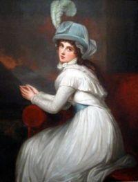 George Romney - Lady Hamilton (1791)