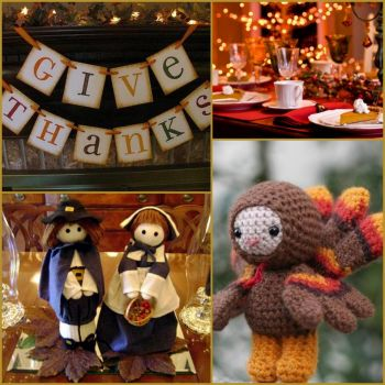 Thanksgiving decorating - small