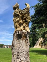 Tree Sculpture, Pershore