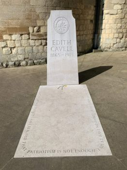 Edith Cavell Grave