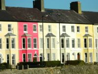 Colourful houses, Beaumaris, Anglesey!!