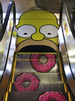 Mmm, donuts - come to Homer