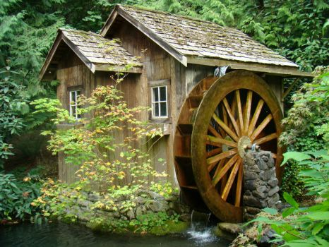 Old Waterwheel Mill