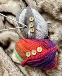 Wool to create with