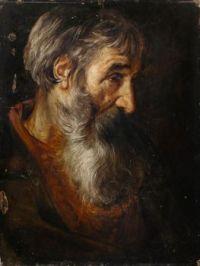 Follower of Pieter van Mol (Flemish, 1599–1650), Head of an Old Man