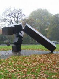 eduardo chillida, monumento vor thyssen (1971), Dusseldorf