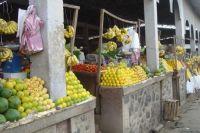 Fruit market in Asmara, Eritrea