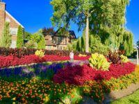 Flower beds, Dows Lake, Ottawa On. Taken Sept. 9, 2016