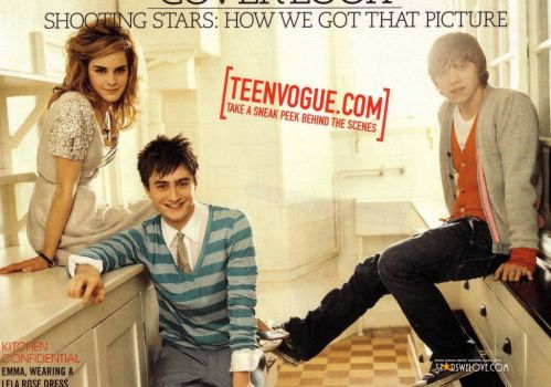 Teen Vogue Harry Potter