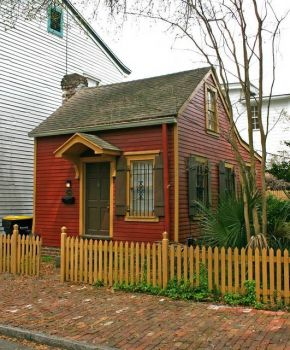 The smallest house in Charleston SC