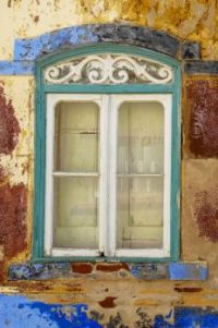 a window in Portugal