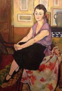 Suzanne Valadon Artwork  -  'Portrait of  Mari Lani'