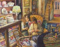 Watching Mama Sew