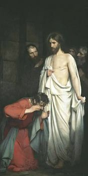 Doubting-Thomas by Carl Bloch