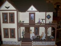 the Bird Carvers dollhouse