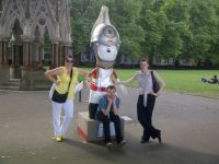My Three with Olympic Mascot