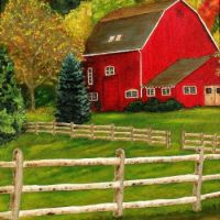 The Red Barn by William Erwin