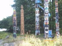 Totem poles of stories