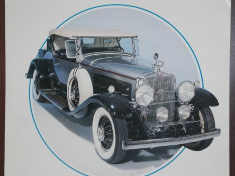 Cadillac 1930 Fleetwood, the first 16 cylinder engine to reach the market