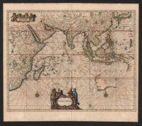 Antique Map - Indian Ocean