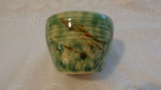 Small Bowl with Copper Glaze
