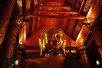Buddha in an Ayutthaya temple, Thailand