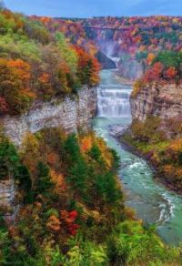 Letchworth State Park in New York State