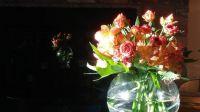 bouquet reflection