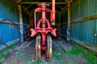 Colorful Old Tractor