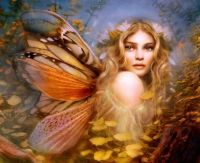 3.  ~  ' Autumn Monarch Fairy'
