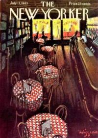 LOOKING AT NEW YORKER COVERS 1960S -  July 13 1963 / cover art by Donald Higgins